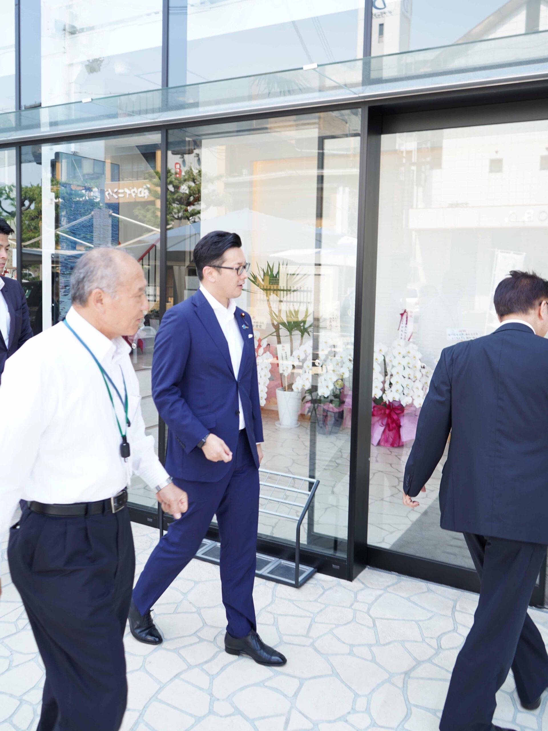 濱村農林水産大臣政務官が来訪されました!① その1