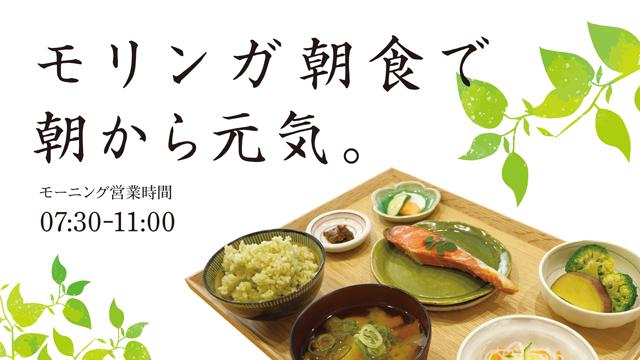 モリンガ朝定食
