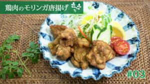鶏肉のモリンガ唐揚げ